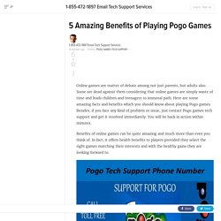 5 Amazing Benefits of Playing Pogo Games