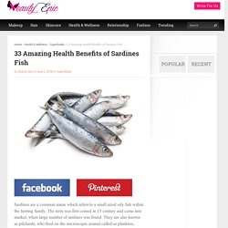 33 Amazing Health Benefits of Sardines Fish