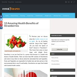 Medical Health Benefits of Strawberries