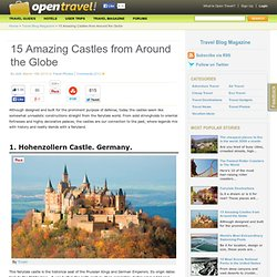 15 Amazing Castles from Around the Globe - StumbleUpon