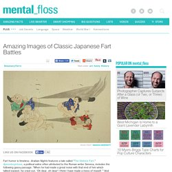 Amazing Images of Classic Japanese Fart Battles