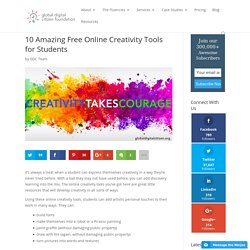 10 Amazing Free Online Creativity Tools for Students