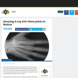 Amazing X-ray GIFs Show Joints In Motion