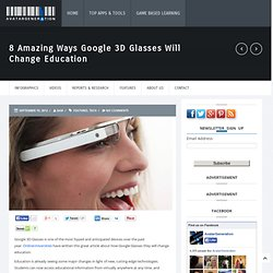 Google 3D Glasses