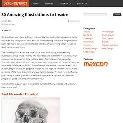 30 Amazing Illustrations to Inspire