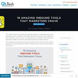 19 Amazing Inbound Tools That Marketers Crave
