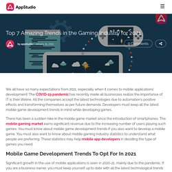 Top 7 Amazing Trends in the Gaming Industry for 2021