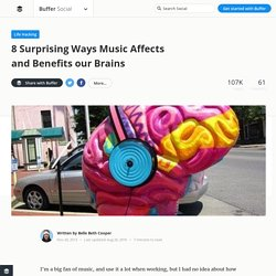 8 Surprising Ways Music Affects the Brain