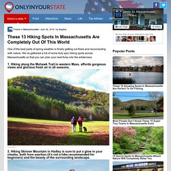 13 Amazing Massachusetts Hiking Spots