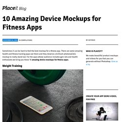10 Amazing Device Mockups for Fitness Apps