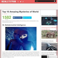 Top 10 Amazing Mysteries of World
