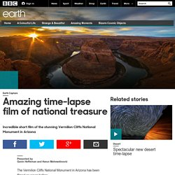 Earth - Amazing time-lapse film of national treasure