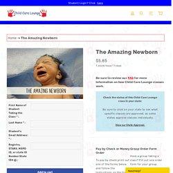 The Amazing Newborn Online Class