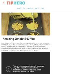Amazing Omelet Muffins