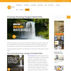 Amazing Oregon Waterfalls - But How Many Are There?