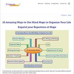 10 manières étonnantes à utiliser Mind Maps pour organiser votre vie - Frugal orientation 2
