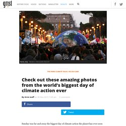 Check out these amazing photos from the world's biggest day of climate action ever