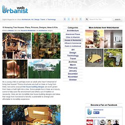 10 Amazing Tree Houses: Plans, Pictures, Designs & Building Ideas