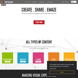 emaze - Create Amazing Presentations Online in Minutes