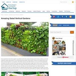 Amazing Salad Vertical Gardens