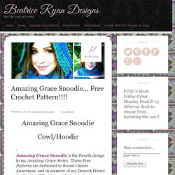 Amazing Grace Snoodie… Free Crochet Pattern!!!!