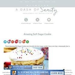 Amazing Soft Sugar Cookies