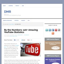 32 Amazing YouTube Statistics (March 2014)