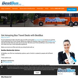 Bus Travel Deals