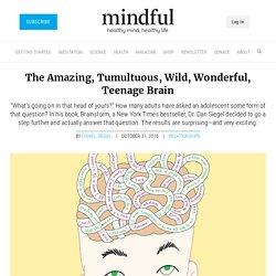 The Amazing, Tumultuous, Wild, Wonderful, Teenage Brain