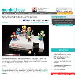 19 Amazing Video Game Cakes - Mental Floss