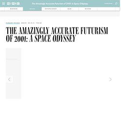 The Amazingly Accurate Futurism of 2001: A Space Odyssey