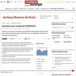 Amazon.com: acquiert LOVEFiLM