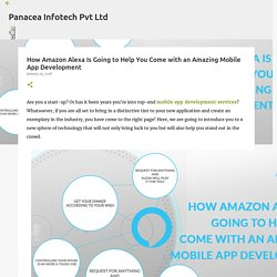 How Amazon Alexa Is Going to Help You Come with an Amazing Mobile App Development