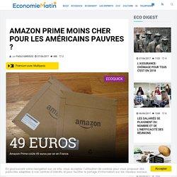 Amazon Prime moins cher pour les Américains pauvres ?