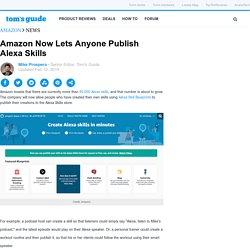Amazon Now Lets Anyone Publish Alexa Skills