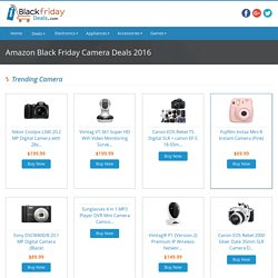 Amazon Black Friday Camera Deals