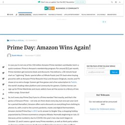 Prime Day: Amazon Wins Again! - Business 2 Community