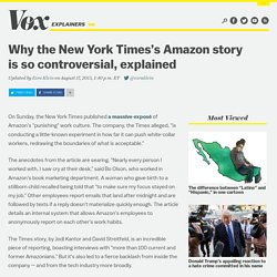 Why the New York Times's Amazon story is so controversial, explained