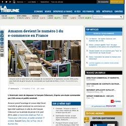 Amazon devient le numéro 1 du e-commerce en France