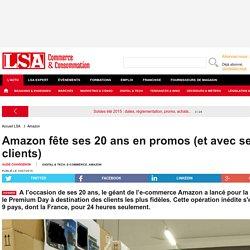 Amazon fête ses 20 ans en promos (et avec ses... - Les dossiers LSA de la grande consommation