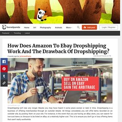 How Does Amazon To Ebay Dropshipping Work And The Drawback Of Dropshipping?