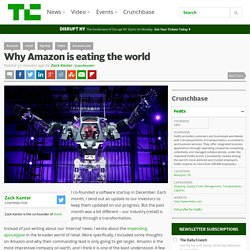 Why Amazon is eating the world