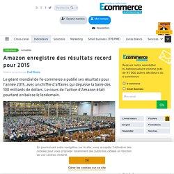 Amazon enregistre des résultats record pour 2015