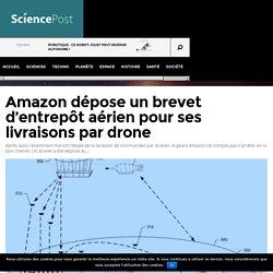 Amazon dépose un brevet d'entrepôt aérien pour ses livraisons par drone