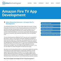 Amazon Fire TV App Development