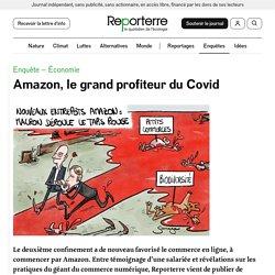 Amazon, le grand profiteur du Covid
