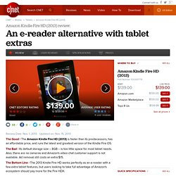 Amazon Kindle Fire HD - Tablets