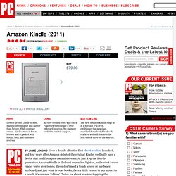 Amazon Kindle (2011) Review & Rating