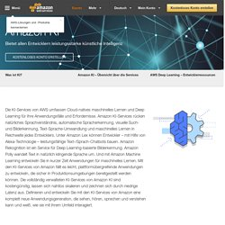 Amazon KI – Künstliche Intelligenz – AWS