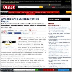 Amazon lance un concurrent de Paypal